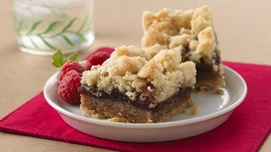 Raspberry Streusel Bars