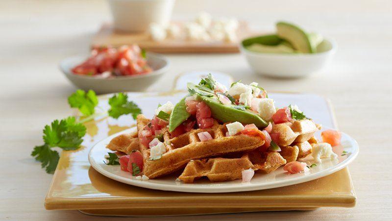 Spicy Cornmeal Waffles – finecookingblog