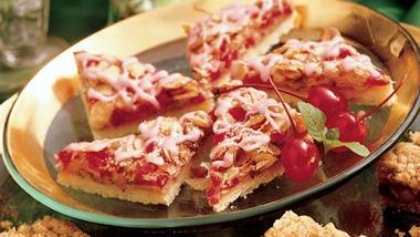 Cherry-Almond Bars