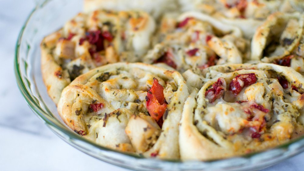 Turkey Pesto Roll-Ups