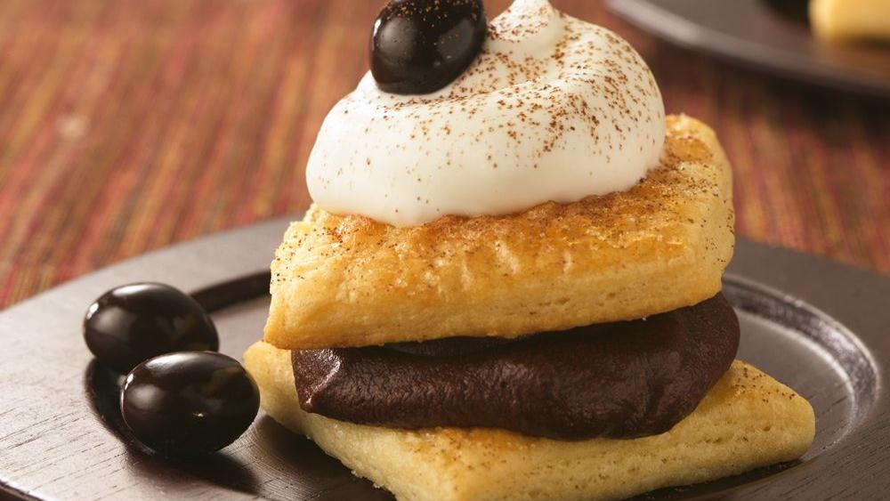 Mocha Mousse Puffs (Cooking for Two)