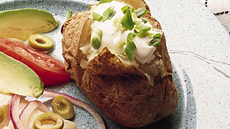 Potatoes with Toppers