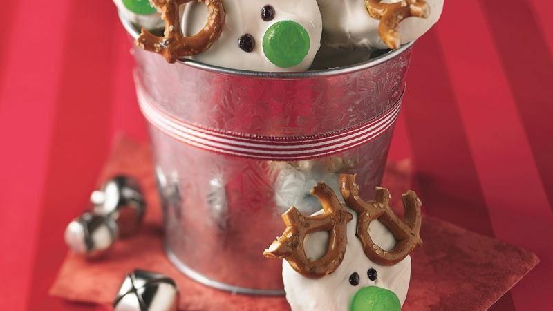Easy Reindeer Cookies