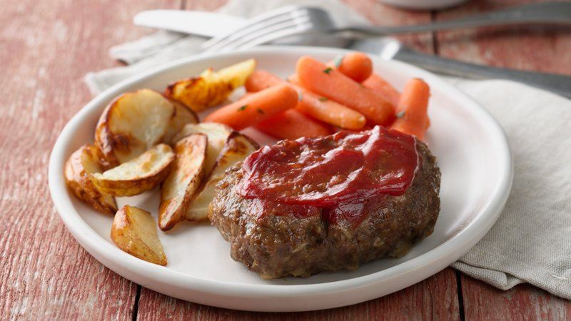 Grilled Meatloaf Dinner Foil Packets