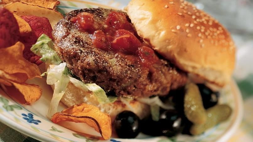 Heart Healthy Cookbook Black Bean Burgers