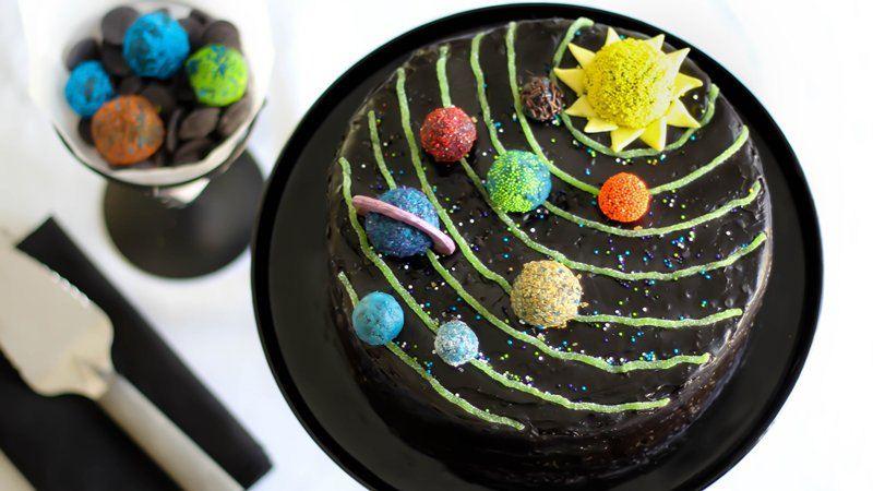 Solar System Birthday Cake Recipe From Betty Crocker