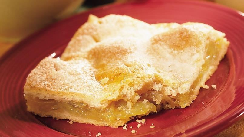 Lemon-Ginger Apple Pie Squares