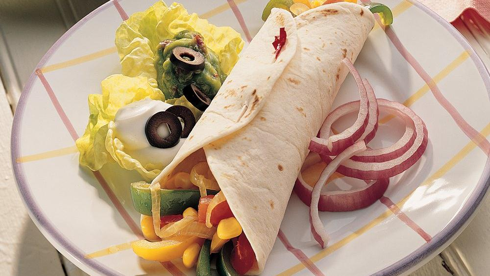 Vegetarian Fajitas