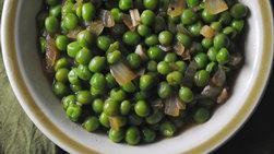 Lemongrass-Sautéd Green Peas