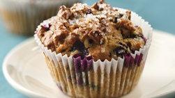 Muffins de Avena y Moras Azules