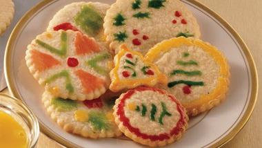 Eggnog Cut-Out Cookies