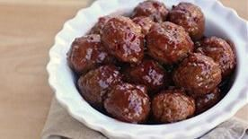 3-Ingredient Sweet and Sour Meatballs
