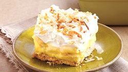 Banana-Coconut Cream Dessert