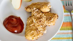 Nuggets crocantes de pollo libres de gluten