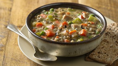 Slow-Cooker North Woods Wild Rice Soup