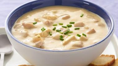 Cheesy Chicken and Ham Chowder