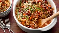 One-Pot Pasta Bolognese