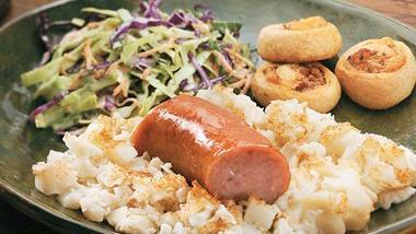 German Potato and Sausage Casserole