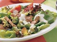Warm Italian Pork Salad