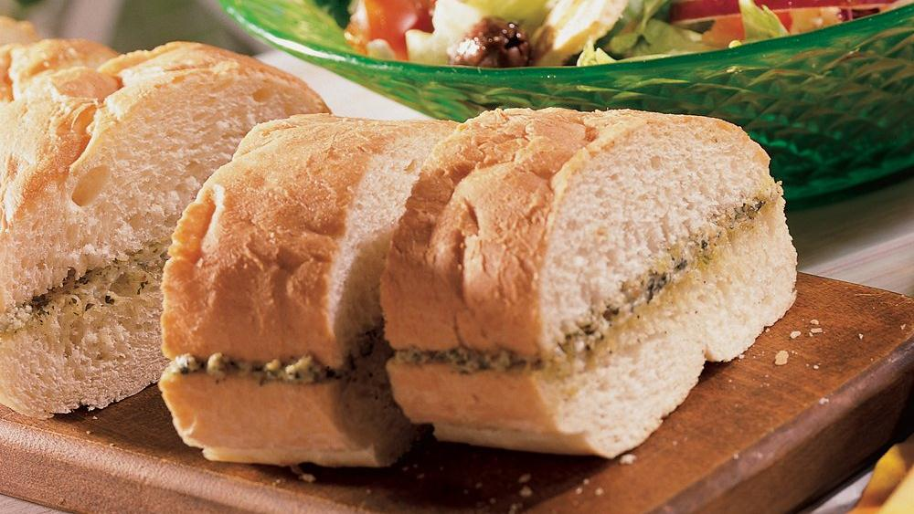 Pesto French Bread