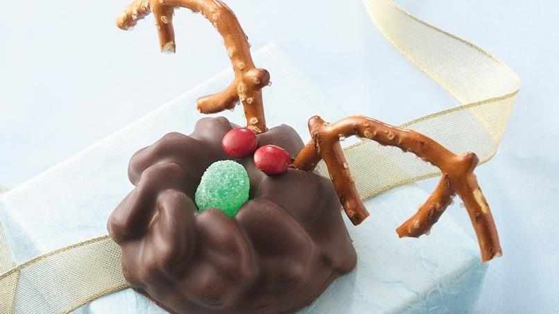 No-Bake Reindeer Cookies