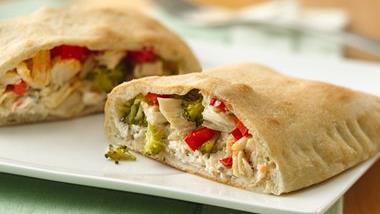 Chicken and Veggie Hand Pies