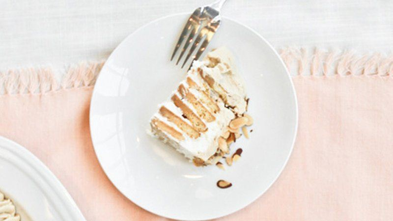 Almond Espresso Ice Box Cake