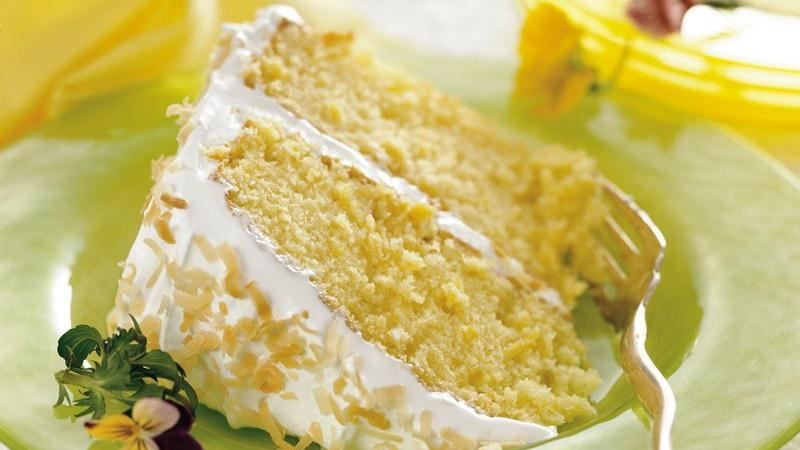 Piña Colada Cake recipe from Betty Crocker