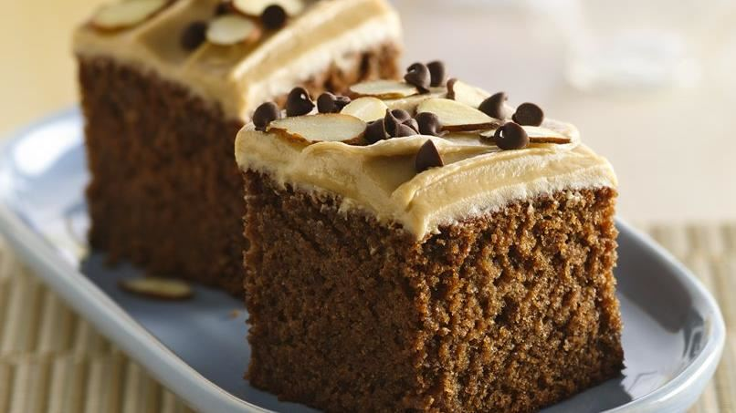 Gluten-Free Chocolate Snack Cake with Creamy Butterscotch Frosting