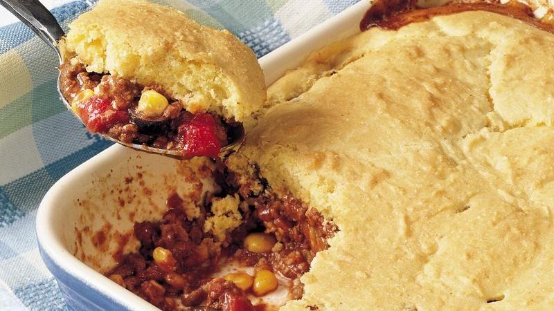Tamale Pot Pie