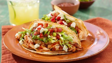 Chipotle Chicken Puffy Tacos