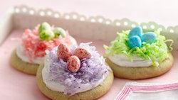 Easter Nest Cookies
