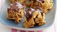 Gluten-Free Crispy Chocolate Peanut Butter Bars