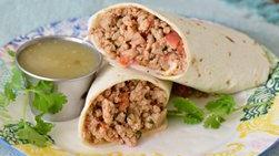 Burritos de Carne Molida de Pollo