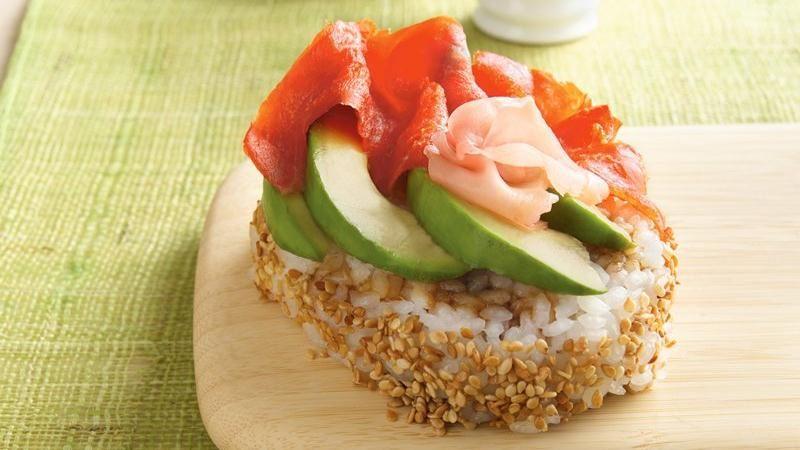 Smoked Salmon-Avocado Sushi Salad