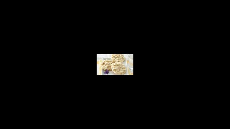 White Chocolate Macaroon Cookies