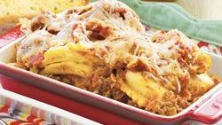 Slow-Cooker Shortcut Ravioli Lasagna