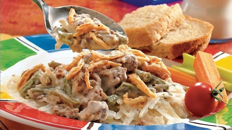 Meat and Potato Casserole