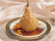 Slow-Cooker Maple-Sauced Pears