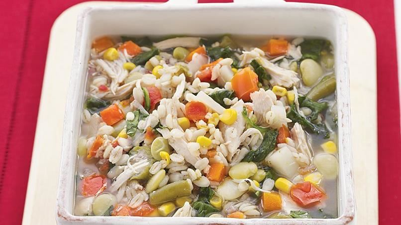 Chicken-Vegetable-Barley Soup