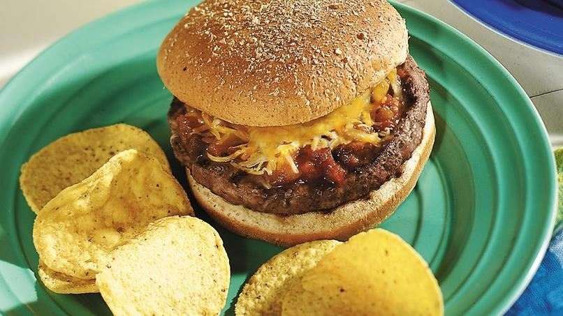 Chili-Cheese Burgers