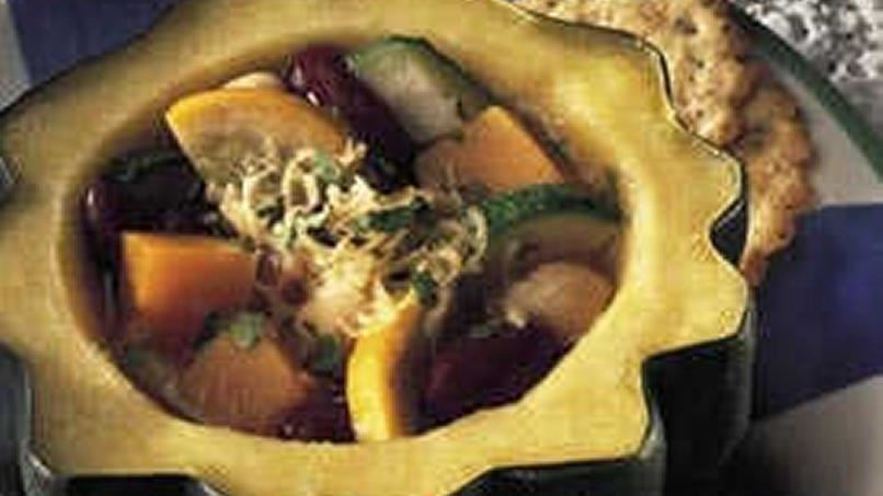 Squash and Bean Soup