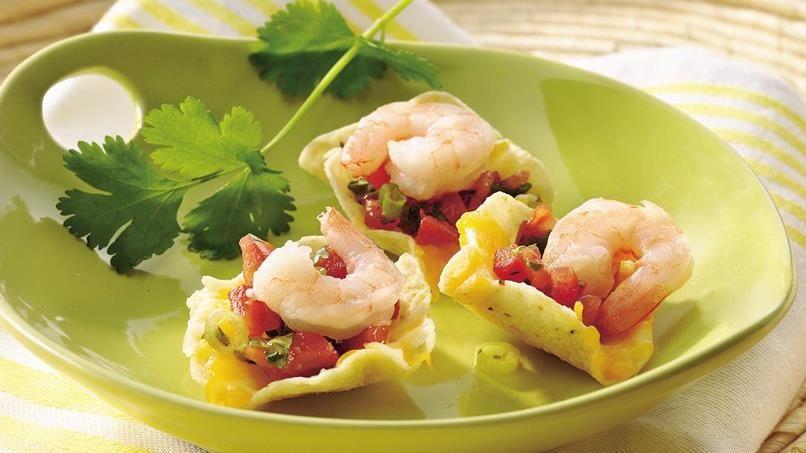 Shrimp-Salsa Nachos