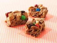 Gluten-Free Peanut and Chocolate Chex® Bars