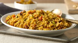 Jeweled Moroccan Pilaf with Pistachio Nuts