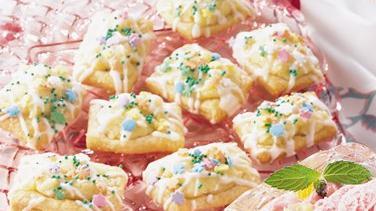 Almond Crescent Puffs