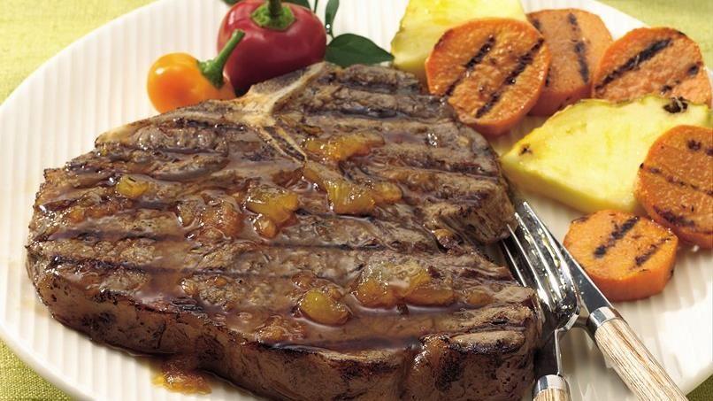 South Seas Grilled Steaks