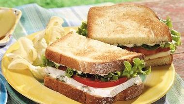 Brie L T Sandwiches