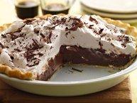 Dark Chocolate Stout Cream Pie
