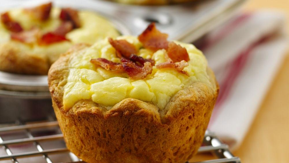 Bacon Quiche Biscuit Cups Recipe From Pillsbury Com